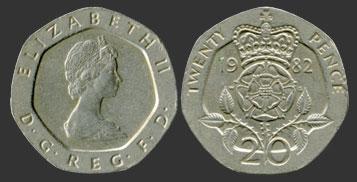 20 пенсов 2 копейки 1932